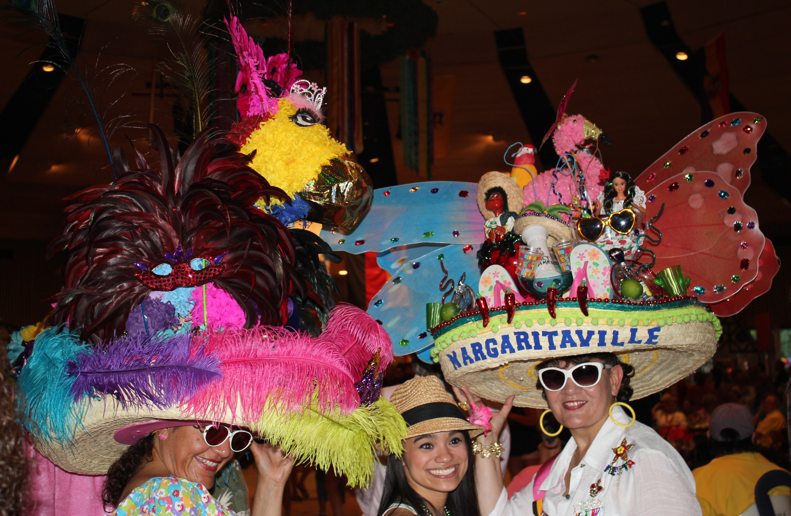 Fiesta hats spotted at niosa and at the fiesta hat show luncheon
