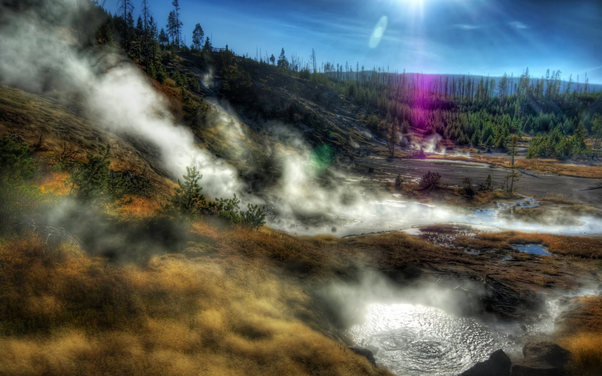 Yellowstone National Park Wallpapers HD Wallpapers 1920x1200