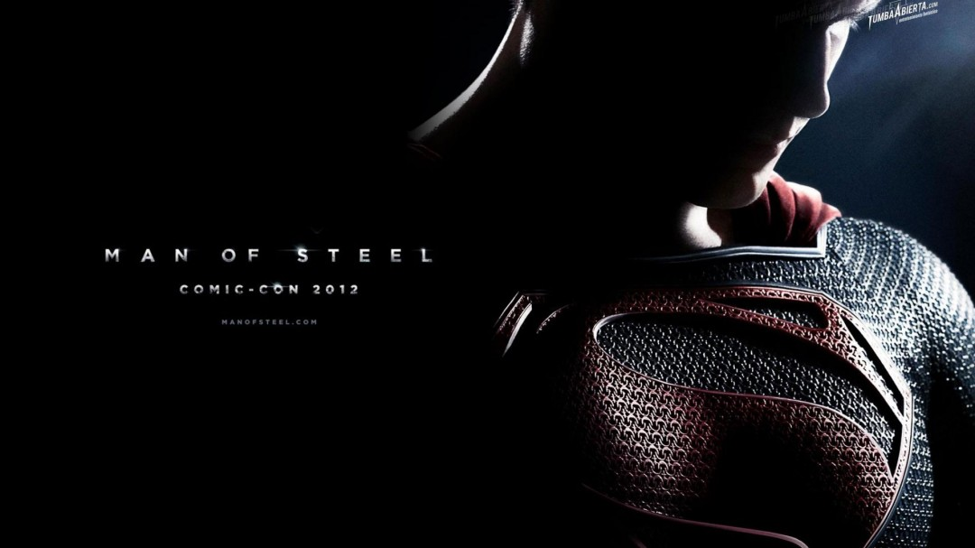Superman Man of Steel Background HD Wallpaper of Movie 1080x607