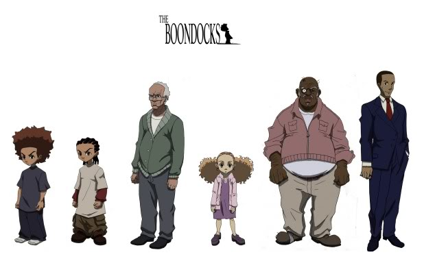 The Boondocks Wallpaper Background Theme Desktop 618x400