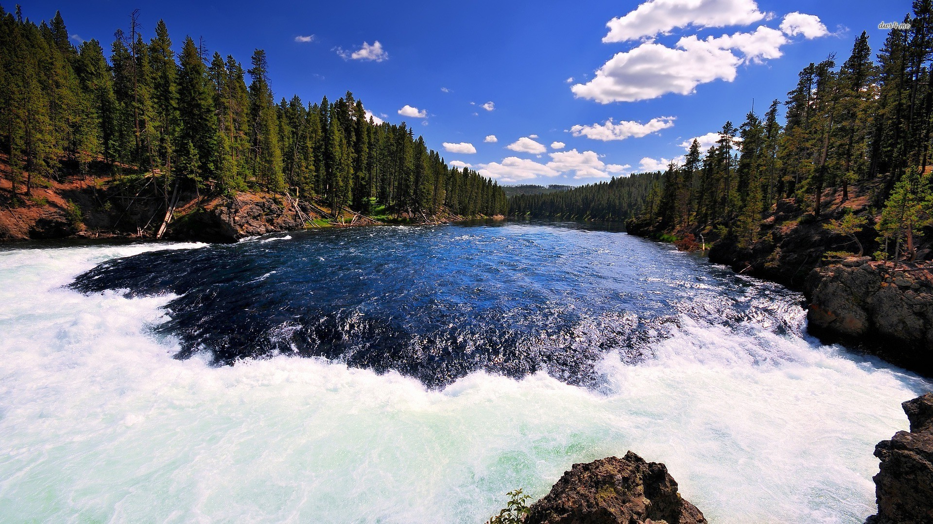 wallpapers firehole river yellowstone national park wyoming photo 1920x1080