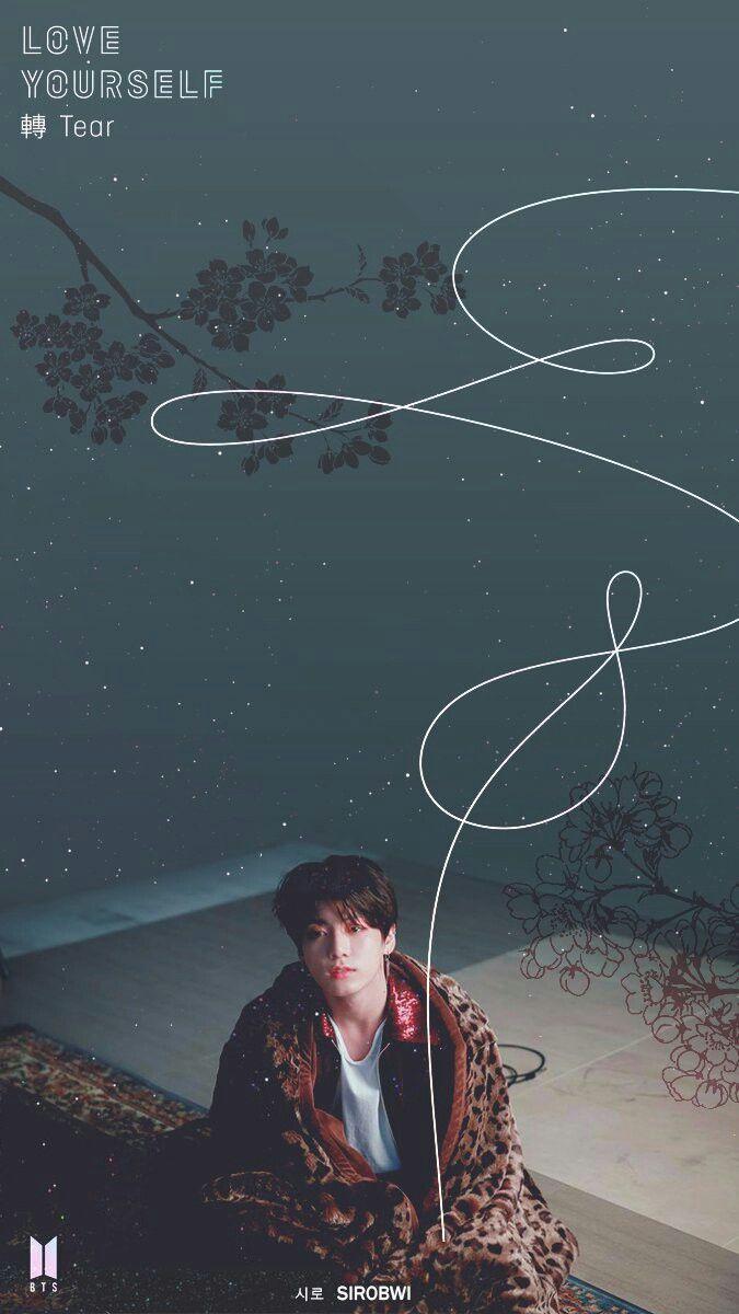 BTS wallpaper Jungkook Love Yourself Tear BTS BTS Bts 675x1200
