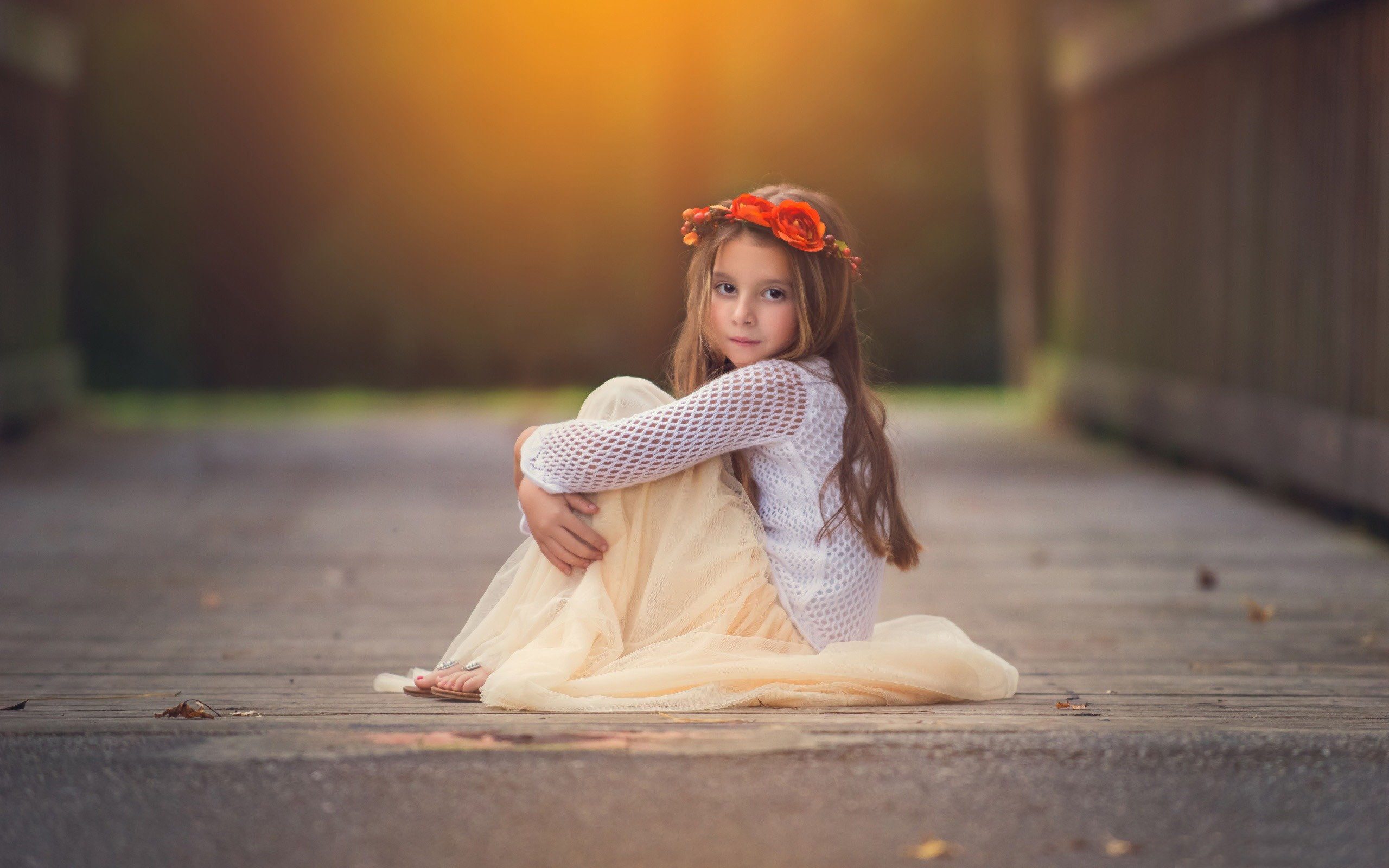 soft child kids girl mood wallpaper background 2560x1600