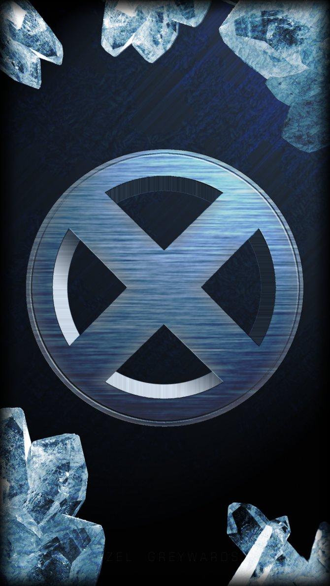 Men Logo   Iceman Galaxy S4 Wallpaper by zelgreywards on 670x1191