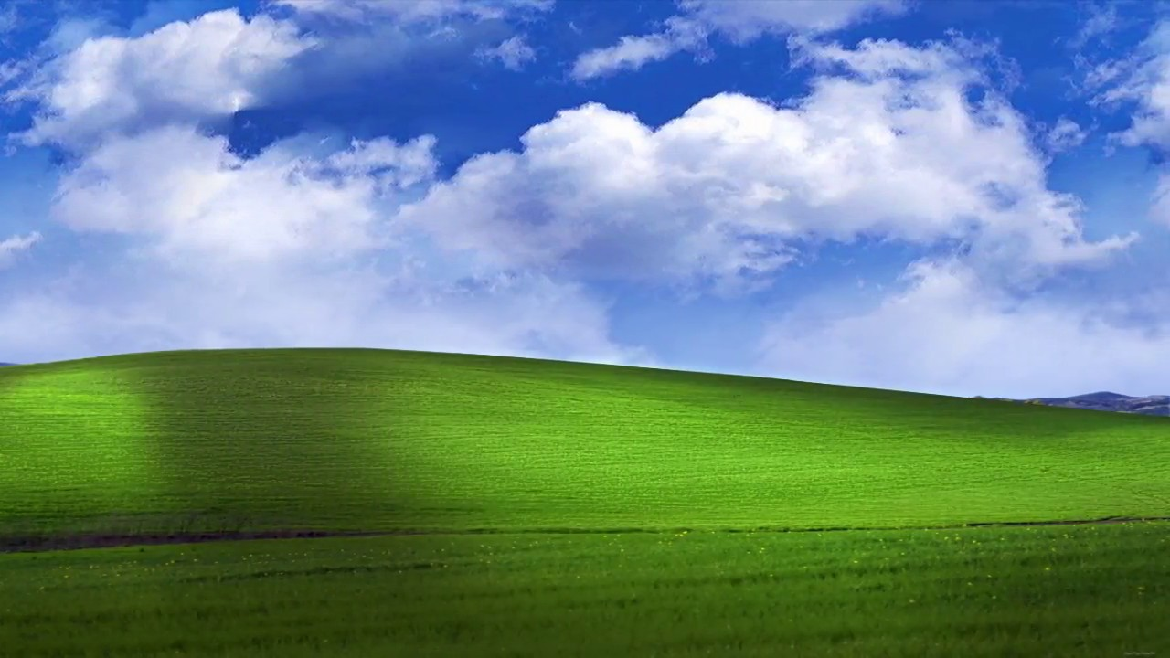 download Bliss WindowsXP Default Wallpaper animated [1280x720 1280x720