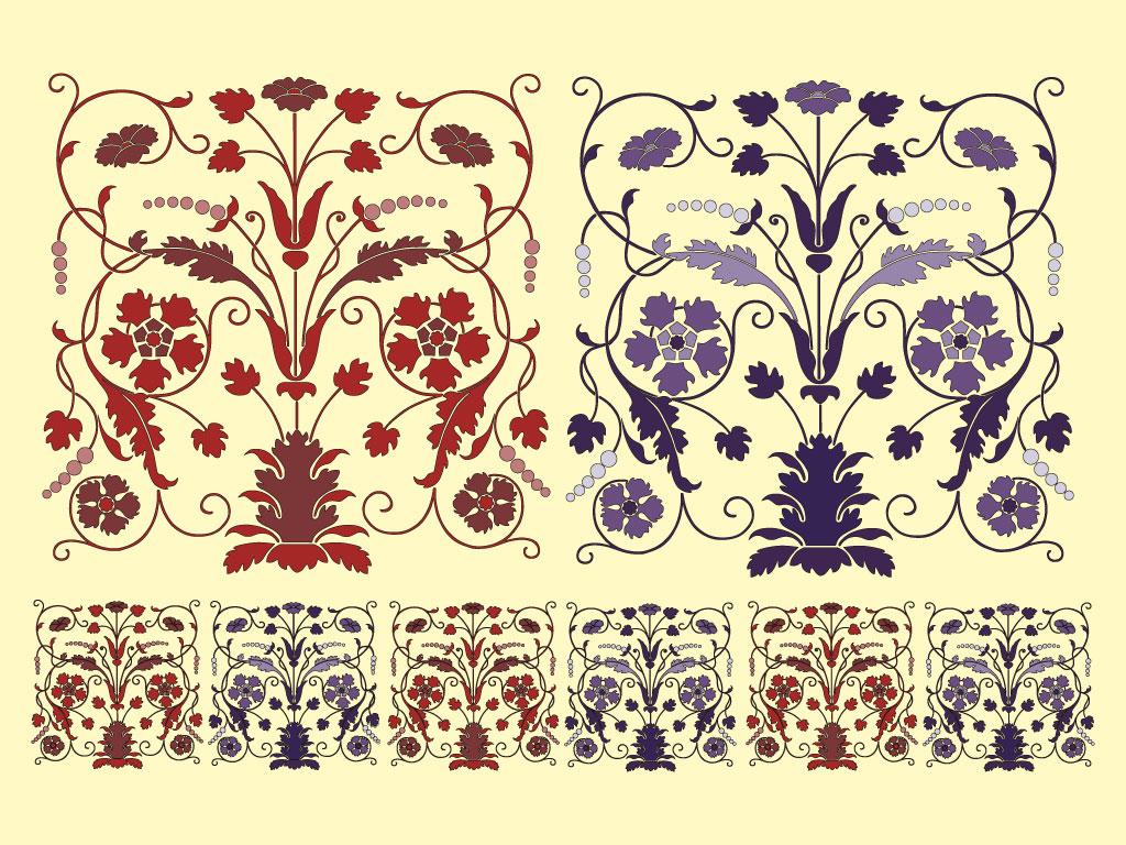 1024x768px Art Nouveau Wallpaper Border - WallpaperSafari