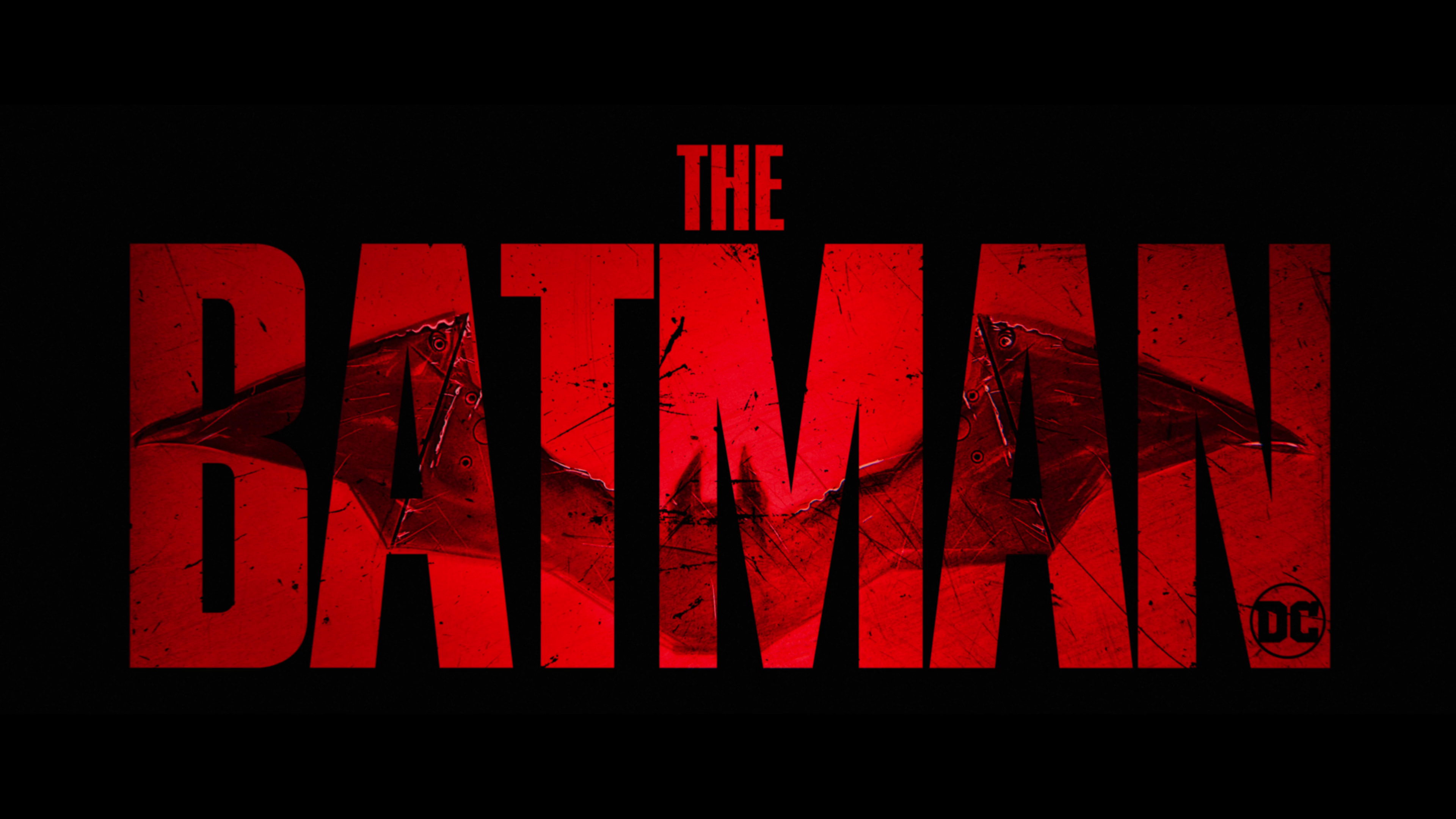 The Batman 2021 Title Card [3840x2160] wallpapers 3840x2160