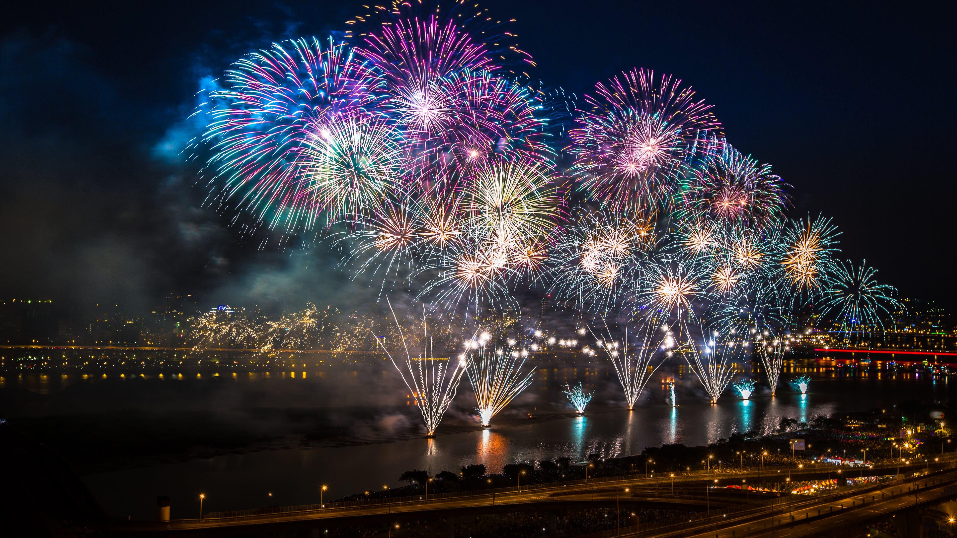 fireworks hd wallpaper wallpapersafari