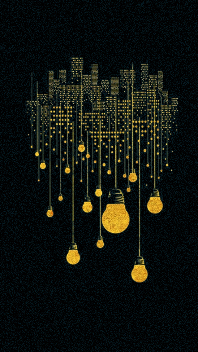 50 City Lights Iphone Wallpaper On Wallpapersafari