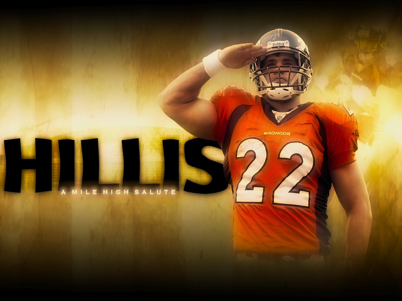 Hillis Cleveland Browns computer desktop wallpapers pictures images 1600x1200