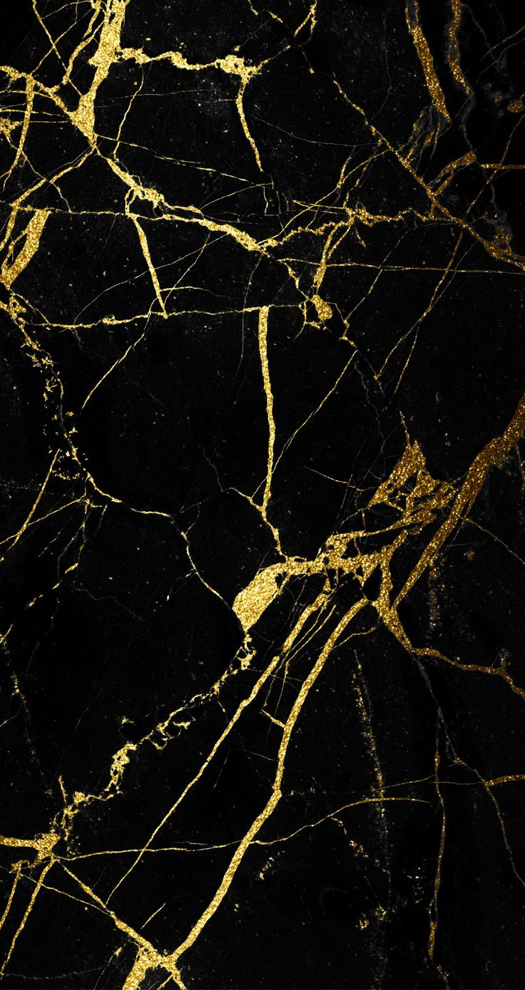 Black And Gold Marble Wallpapers Wallpapersafari