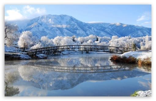 Beautiful Winter Scene HD wallpaper for Standard 43 54 Fullscreen 510x330