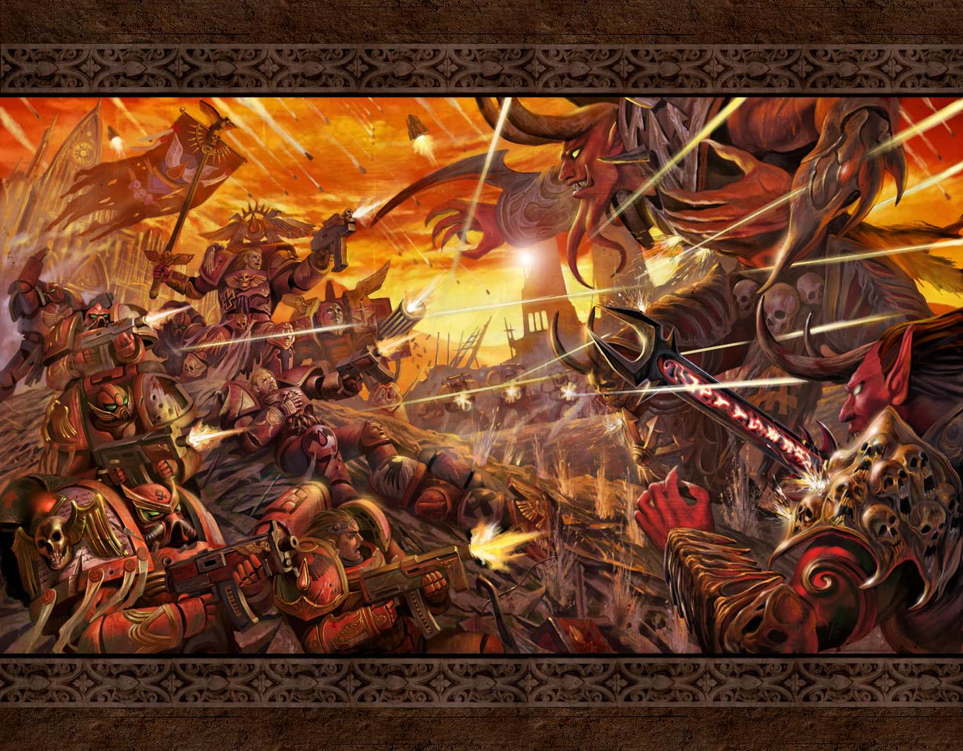 Warhammer 40K Fan Group 1363x1063