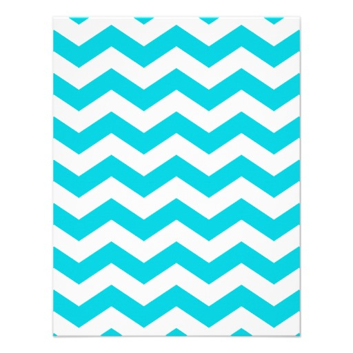 White Zig Zag Invitation 425 X 55 Invitation Card Zazzle 512x512