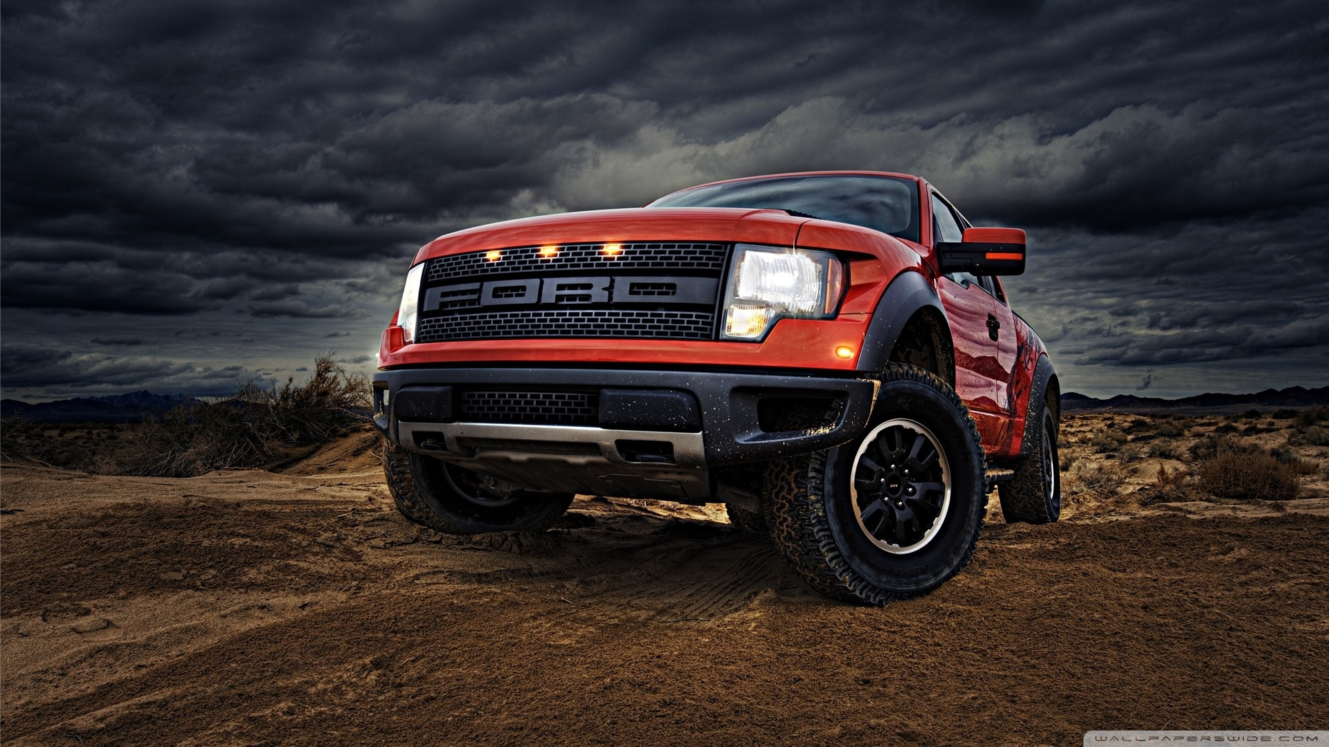 Ford F 150 Raptor Wallpaper 1920x1080 Ford F 150 Raptor 1920x1080