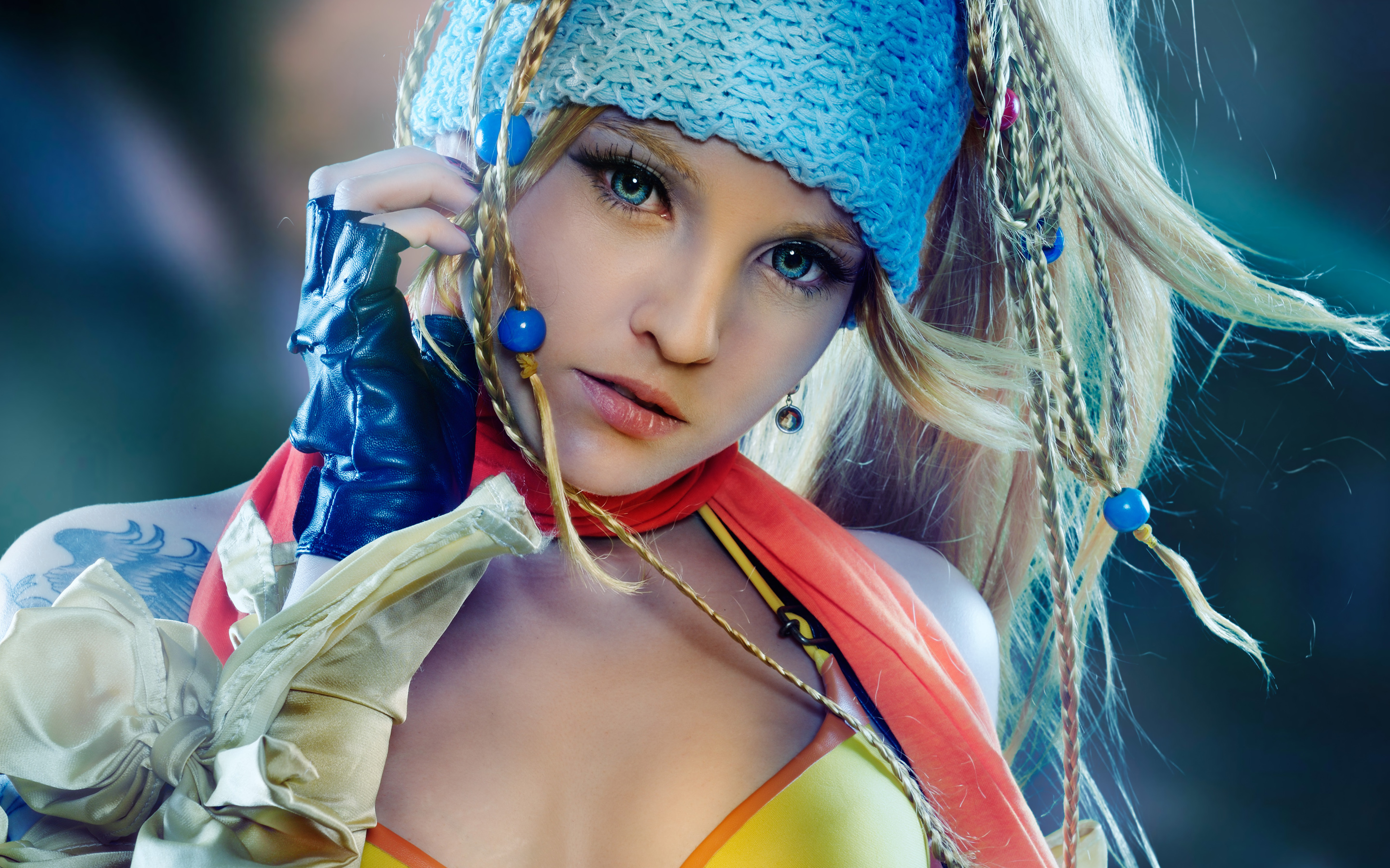 Rikku in Final Fantasy Wallpapers HD Wallpapers 2880x1800