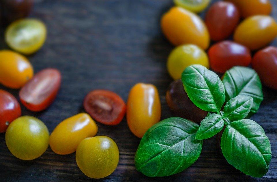 photo Background Wallpaper Fresh Food Tomato Basil   Max Pixel 960x632