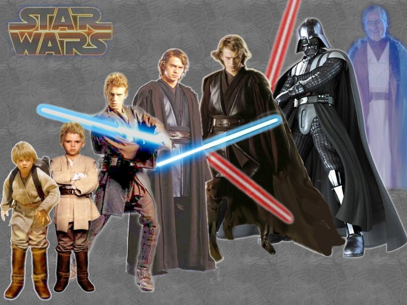 Star Wars Anakin evolution wallpaper   ForWallpapercom 808x606