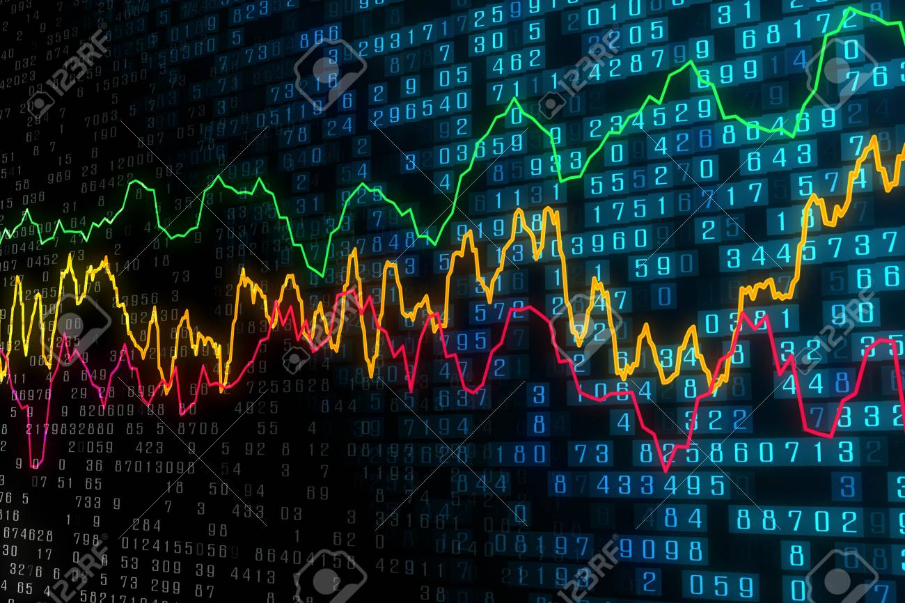 Creative Forex Chart Background Trade Investment And Market 1300x866