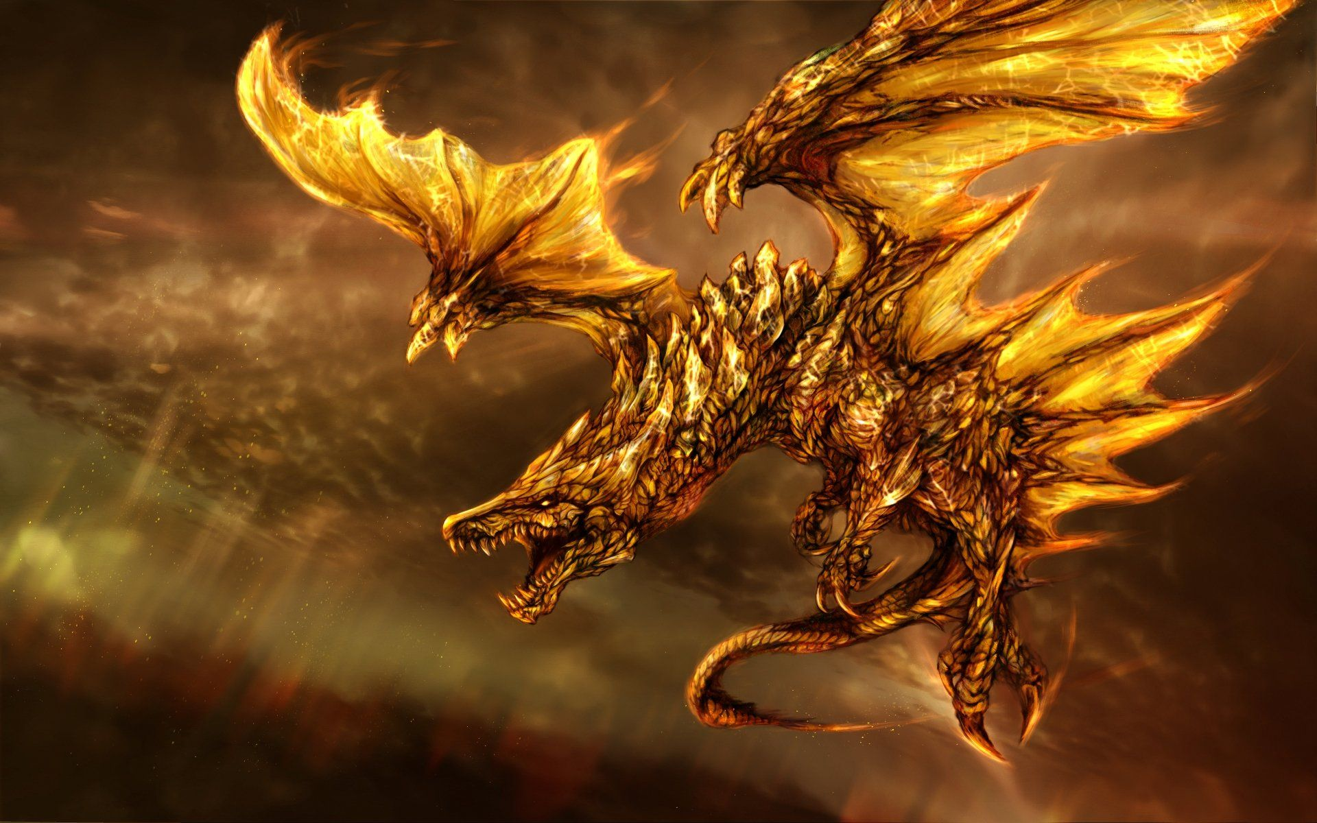 Dragon Fire Wallpapers HD 5150 Wallpaper Cool Walldiskpapercom 1920x1200