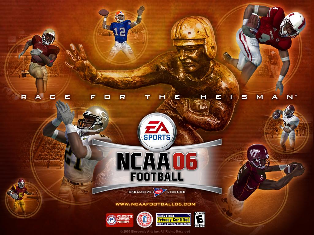 NCAA Football 06 1024x768