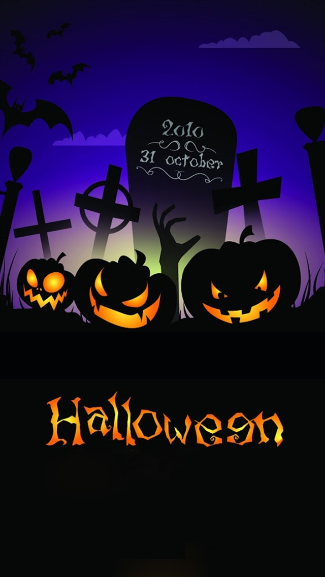 Cool Halloween Iphone Backgrounds Terrible halloween iphone 5 640x1136