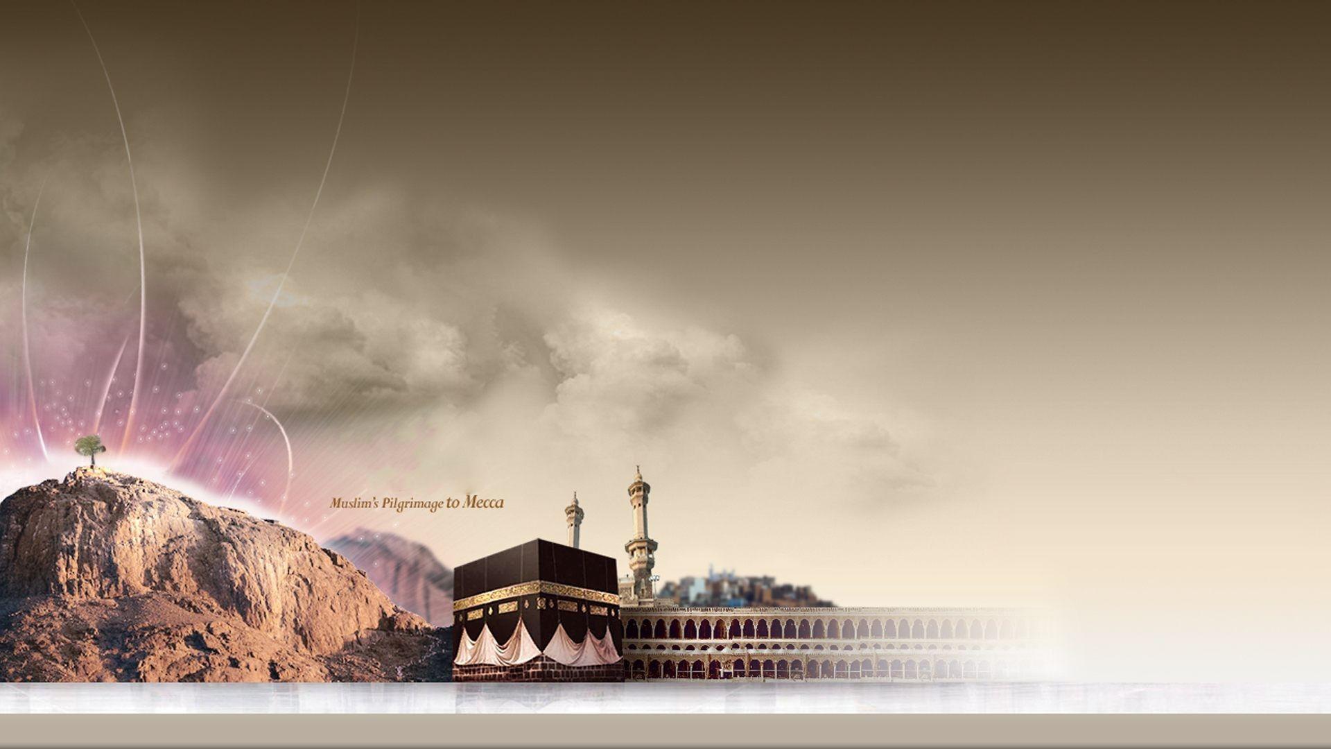 full HD Muslims Hajj Pilgrimage Mecca Desktop wallpaper download 1920x1080