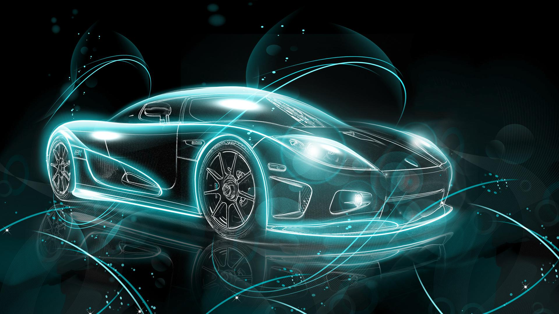 Merveilleux Car Neon Style   (#99314)   High Quality And Resolution Wallpapers On .