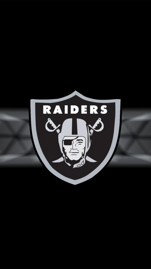 Oakland Raiders iPhone 5 Wallpaper 640x1136 640x1136