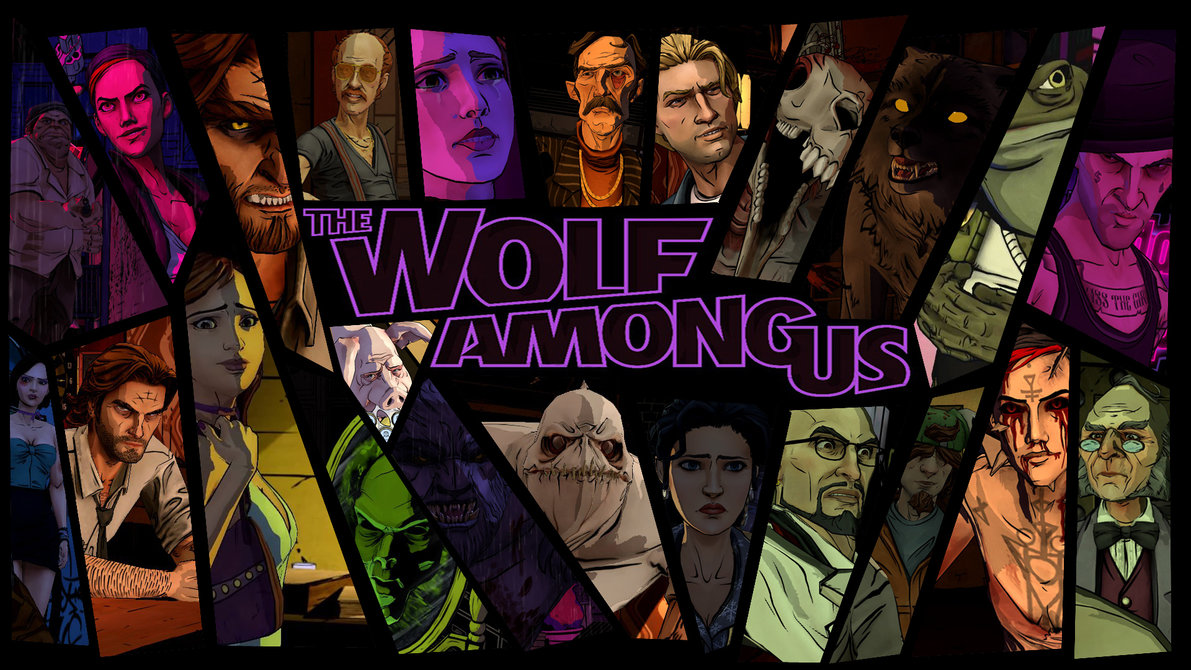 The Wolf Among Us Characters Background by aleco247 1191x670