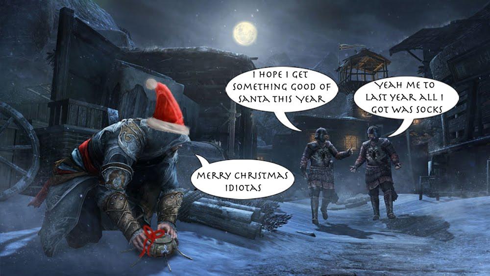 The Jason Zone Assassins Creed Revelations Christmas Wallpaper 1000x564