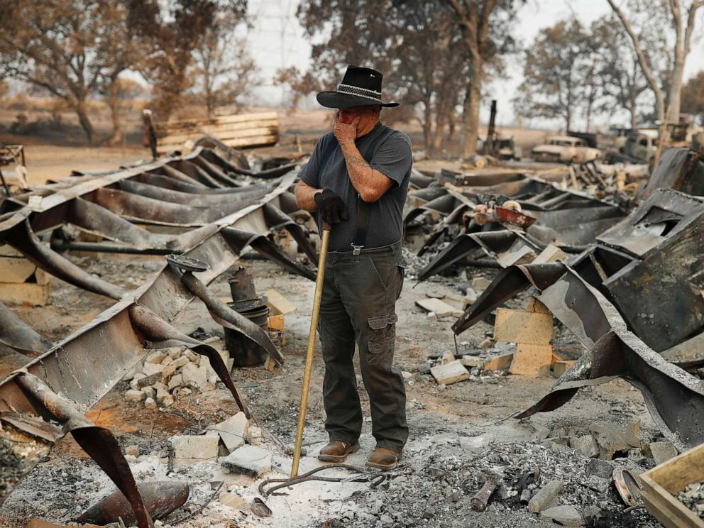 Undeniable link to climate change in Californias fire season 992x744