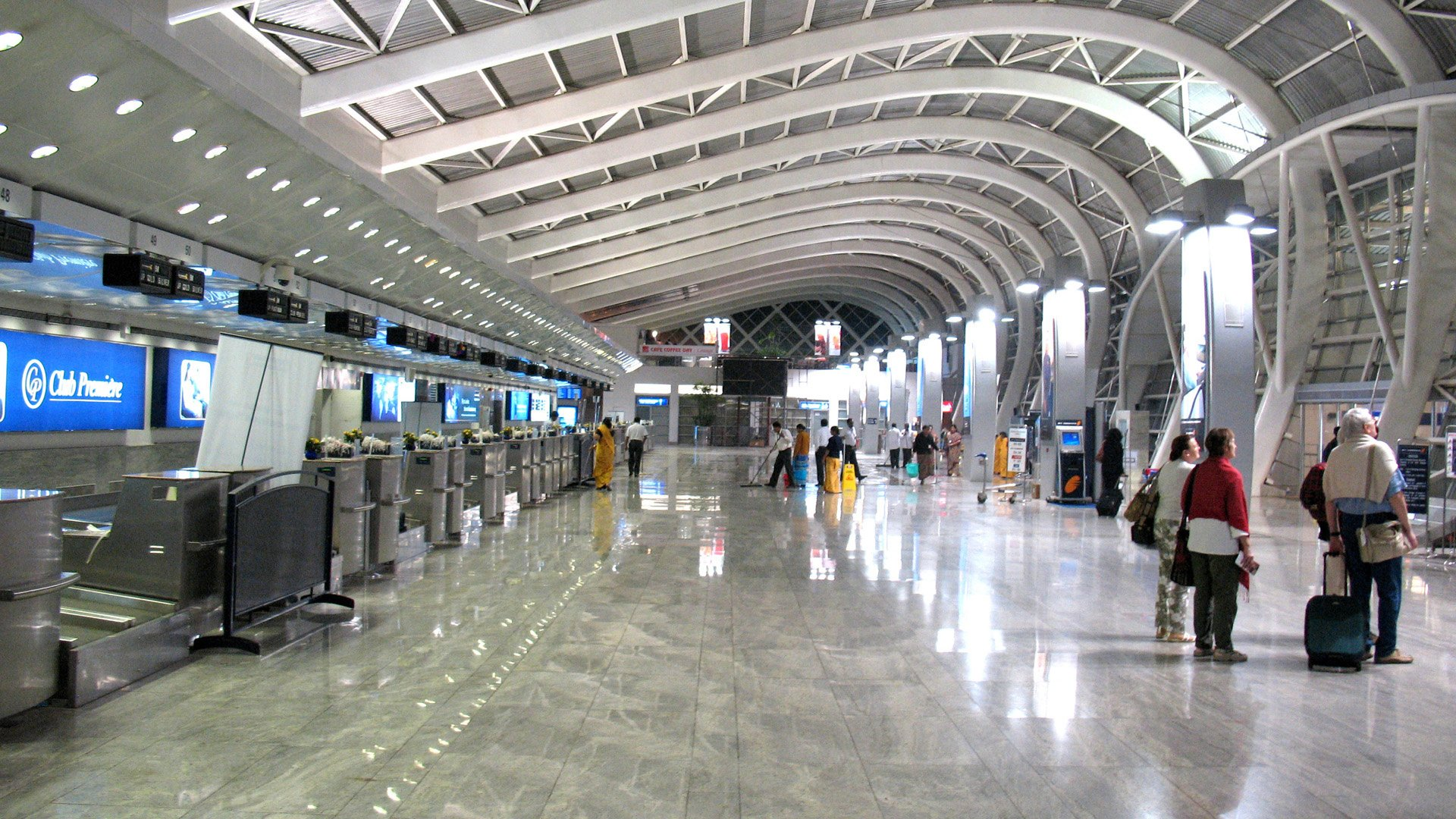 Mumbai International Airport city wallpaper 1920x1080