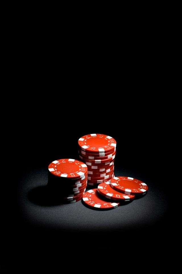 Red Poker Chips iPhone HD Wallpaper iPhone HD Wallpaper download 640x960