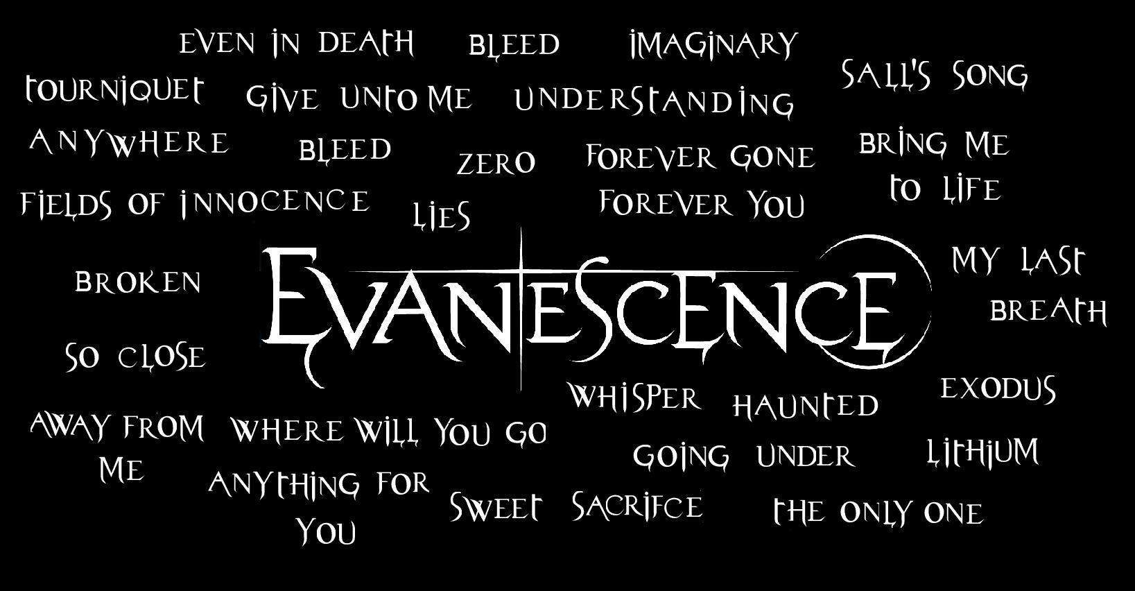 Pix For Evanescence Logo Wallpaper 1637x852