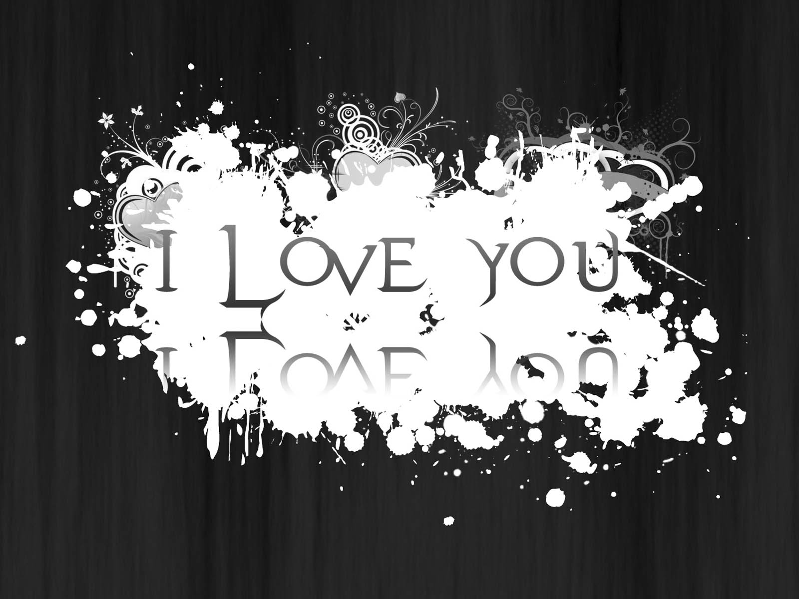 Love wallpapers black and white love desktop wallpapers black and 1600x1200