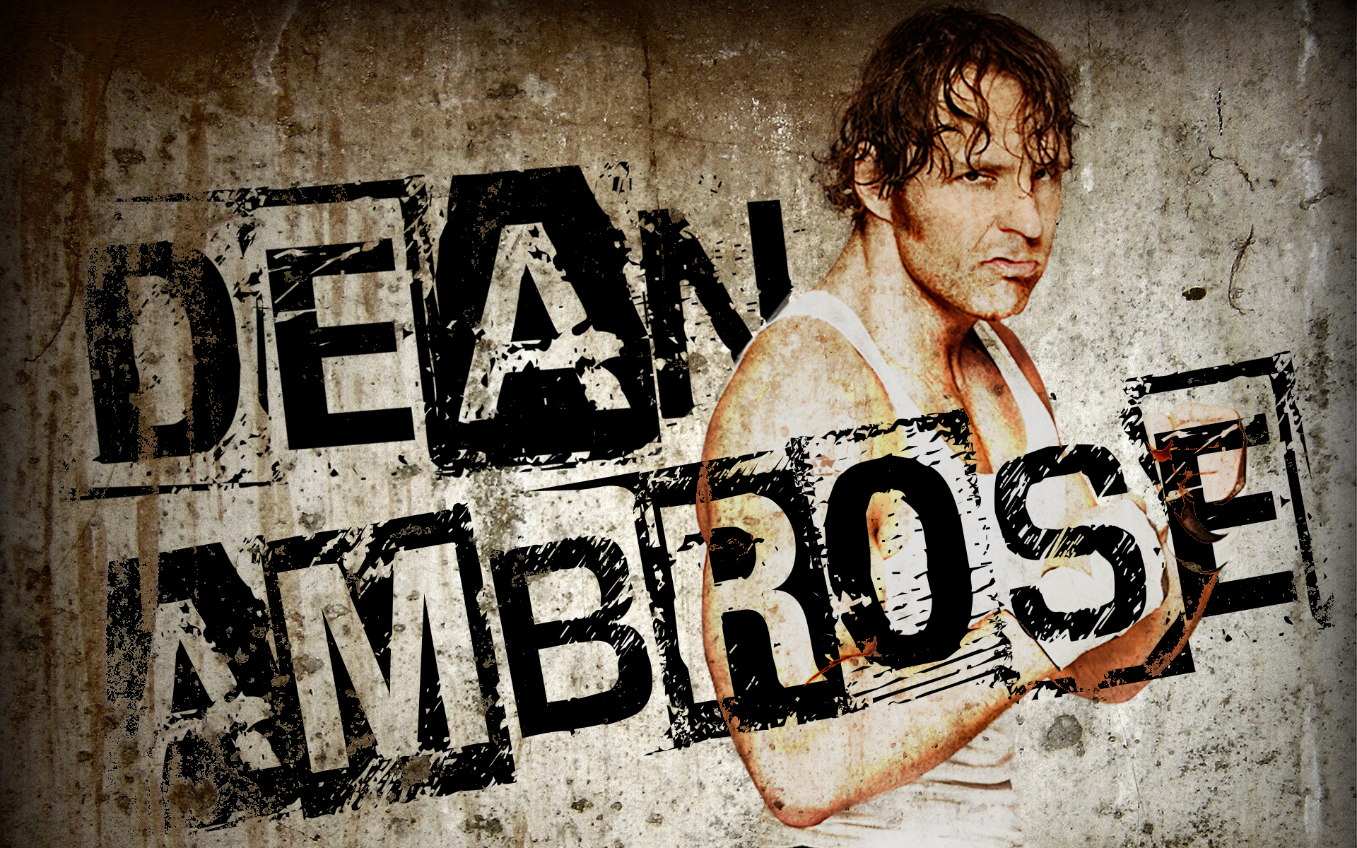 Dean Ambrose New Logo for Pinterest 1920x1200