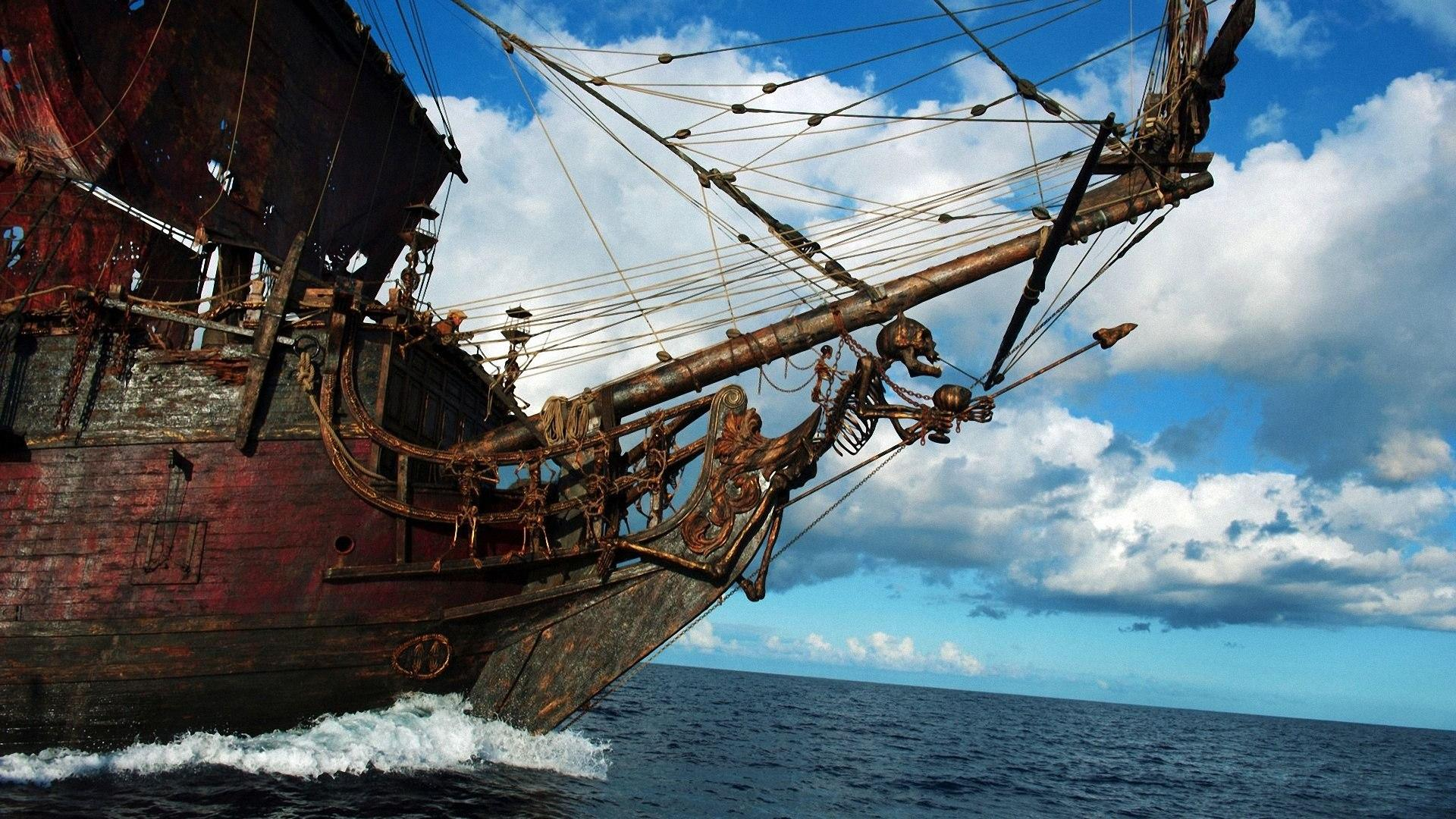 50 pirates of the caribbean 4 wallpaper on wallpapersafari - Pirates of the caribbean wallpaper ...