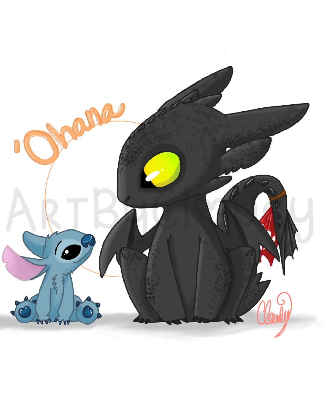 stitch and toothless by emochicklette04 1080x1360