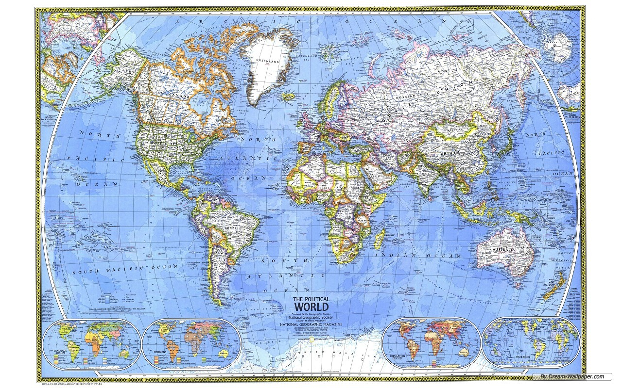 world map desktop wallpapers   www 1280x800