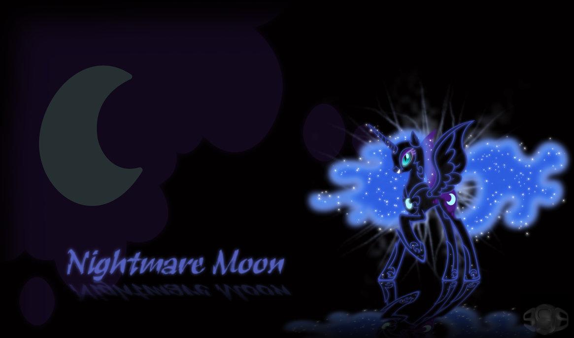 Nightmare Moon Wallpaper Nightmare moon wallpaper 1165x685