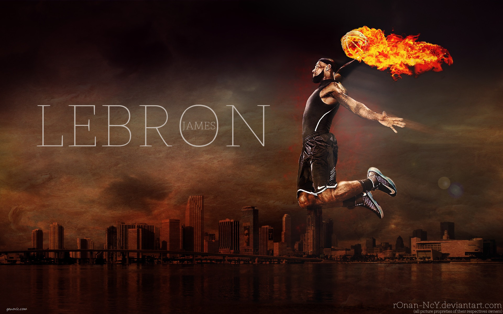 Cool Lebron James Wallpaper Dunk HD Wallpapers Genovic 1920x1200