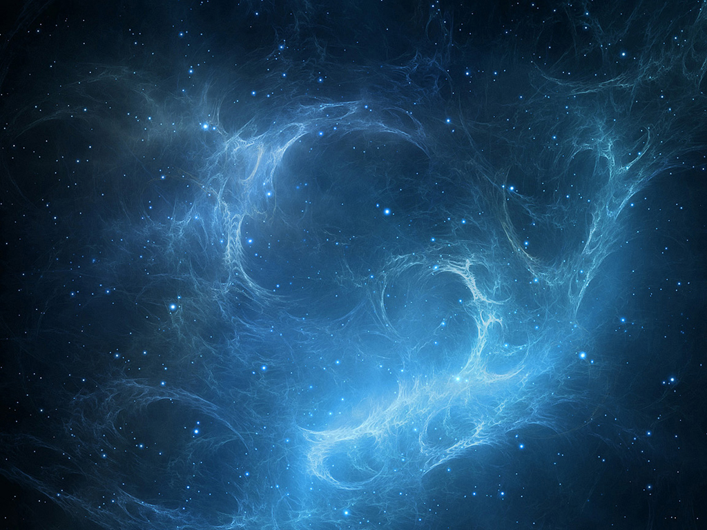 Full HD Wallpapers Space Stars Blue 1024x768
