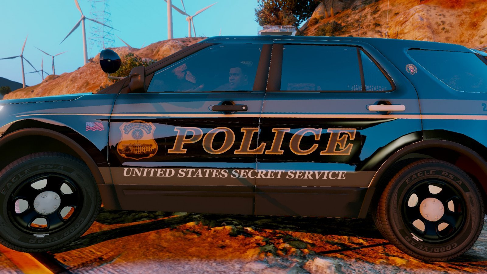 US Secret Service Uniformed Division Pack   Vehicle Textures 1600x900