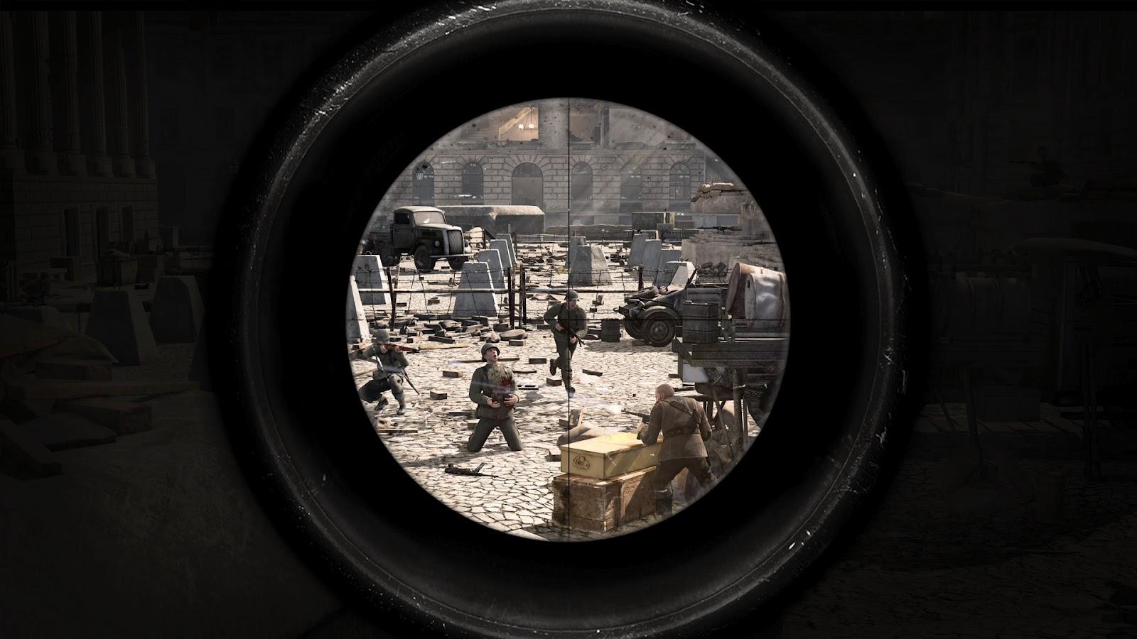 SniperEliteV2wallpapers Sniper Elite V2 Full HD Wallpapers 1080p 1600x900