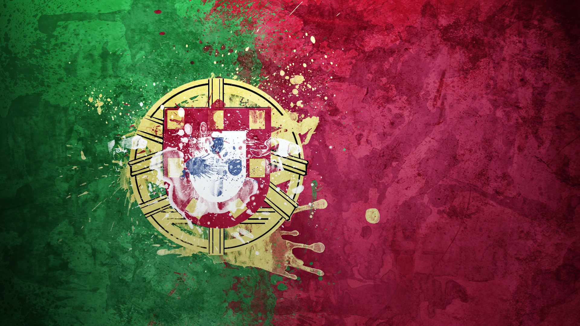 Portugal Flag Wallpaper 26888 1920x1080px 1920x1080