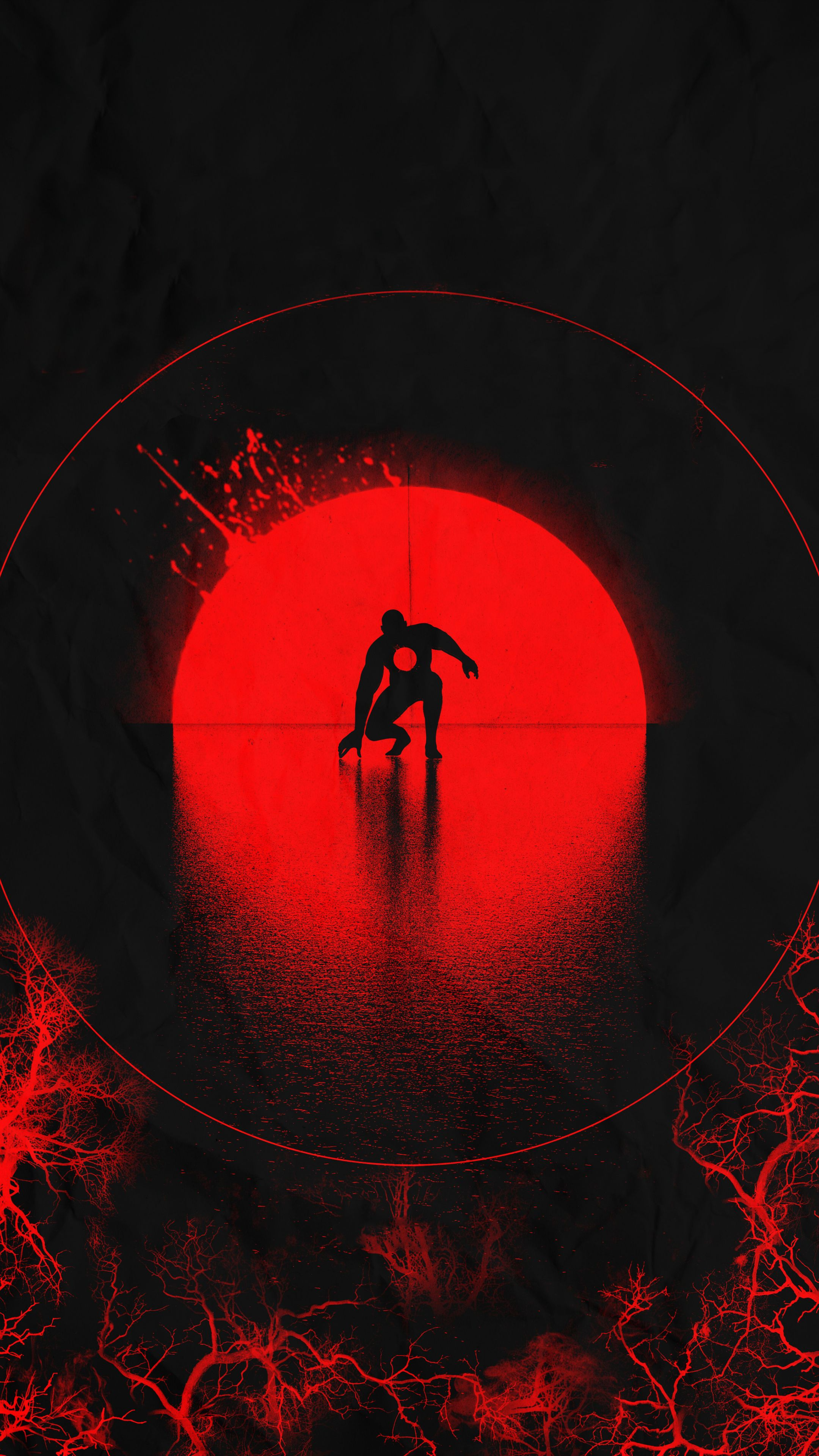 2160x3840 Bloodshot movie 2020 minimal art wallpaper in 2020 2160x3840