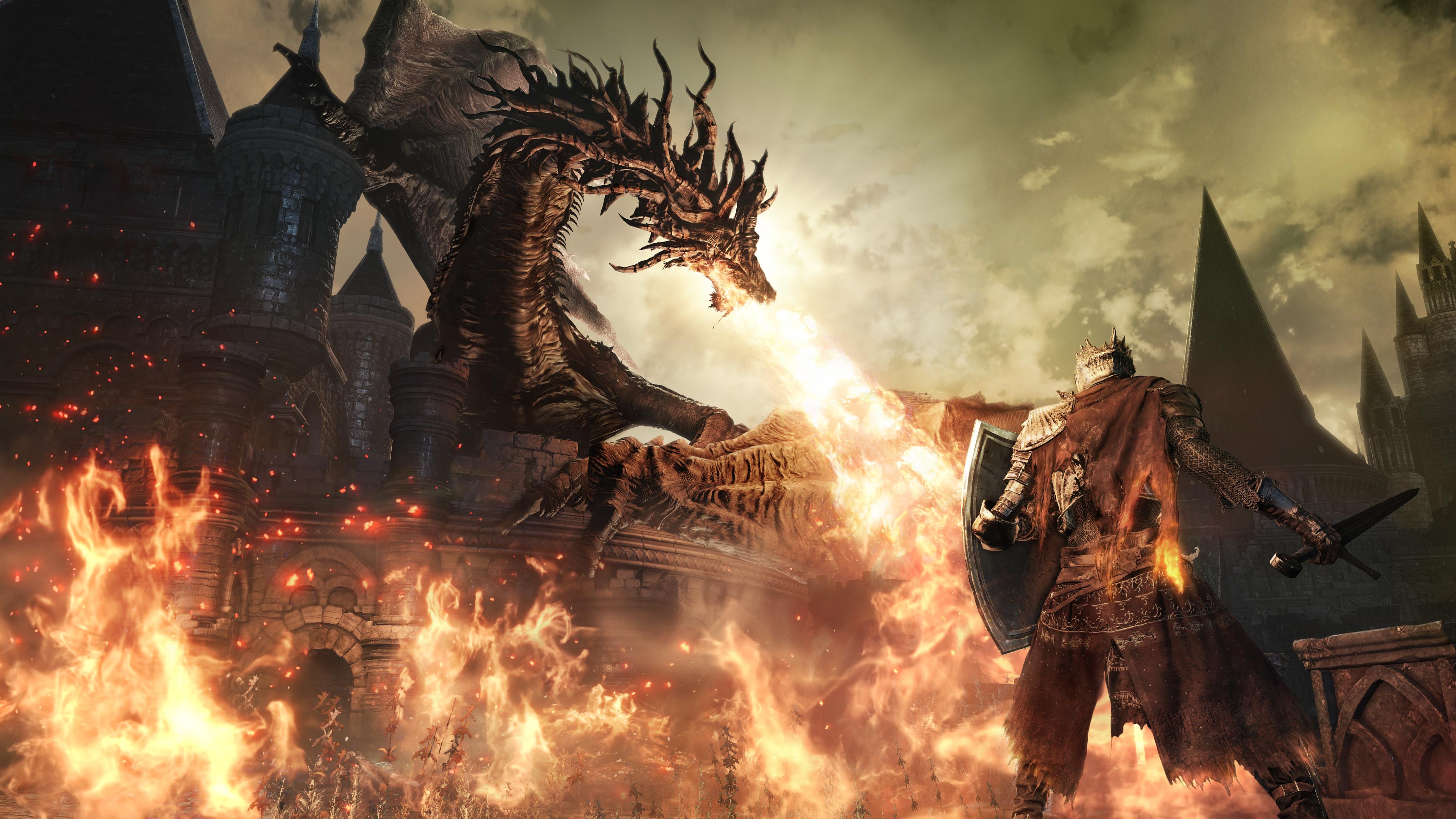 Dark Souls 3 Wallpaper Concept Art Downloads ThemePack 3840x2160