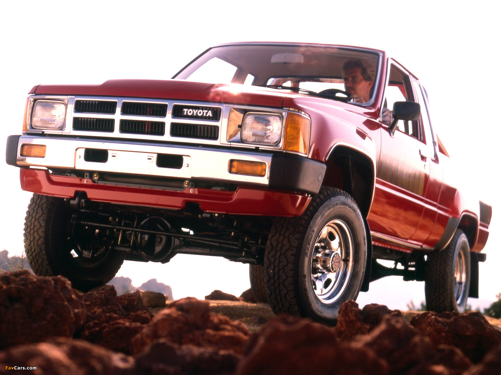Wallpapers of Toyota Truck Xtracab 4WD 198486 1600 x 1200 1600x1200