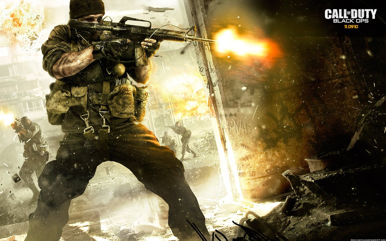 HD WALLPAPERS Call of Duty Black Ops HD Wallpapers 1280x800